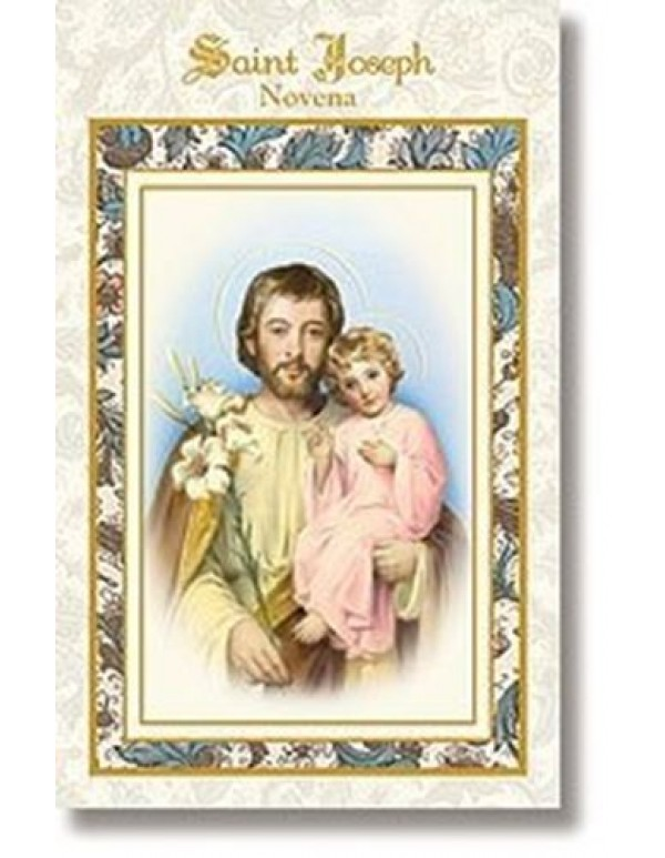 Aquinas Press - St Joseph Novena booklet   - patron of Catholic Church, unborn children, fathers and workers