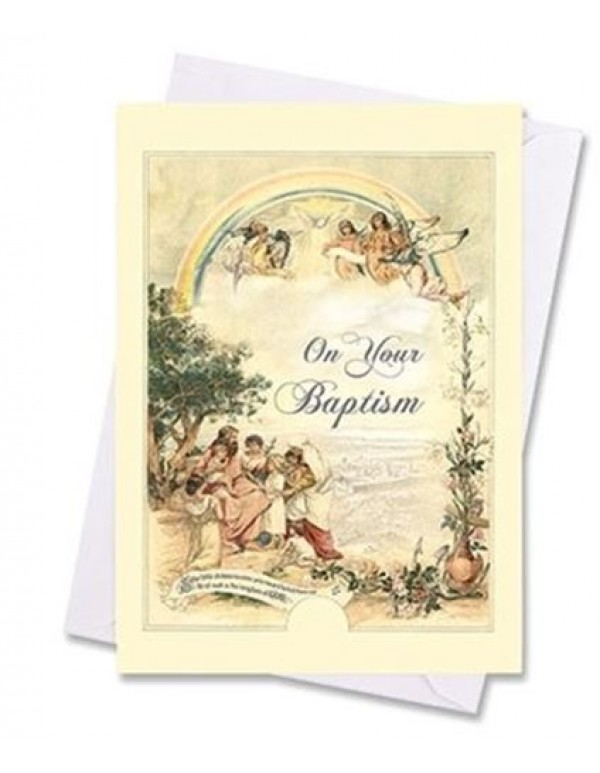 Baptism Greeting Card - On Your Baptism