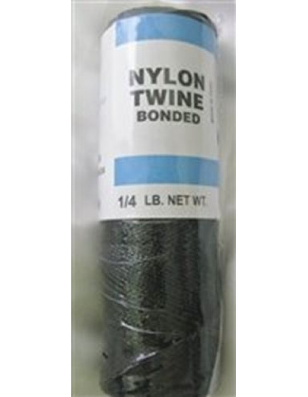 Black bonded nylon cord #9 - 113grams