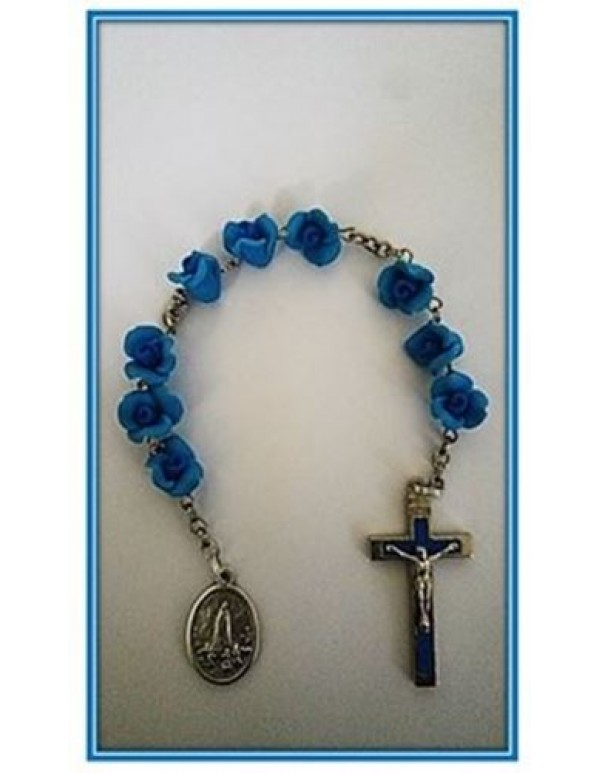 Blue Rose - Chaplet of Our Lady of Fatima