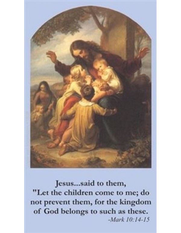 Children's Prayer Card