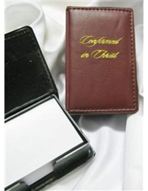 Confirmation memo holder