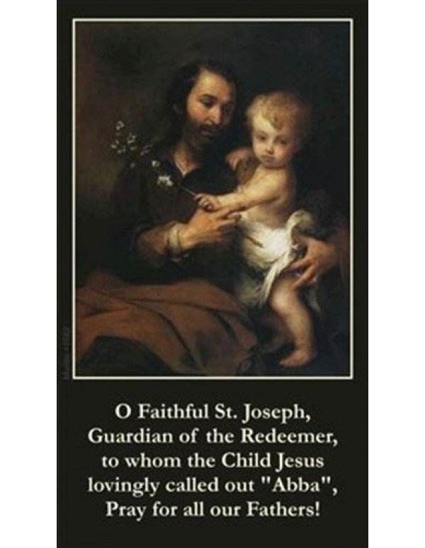 Fathers Day Prayer Card