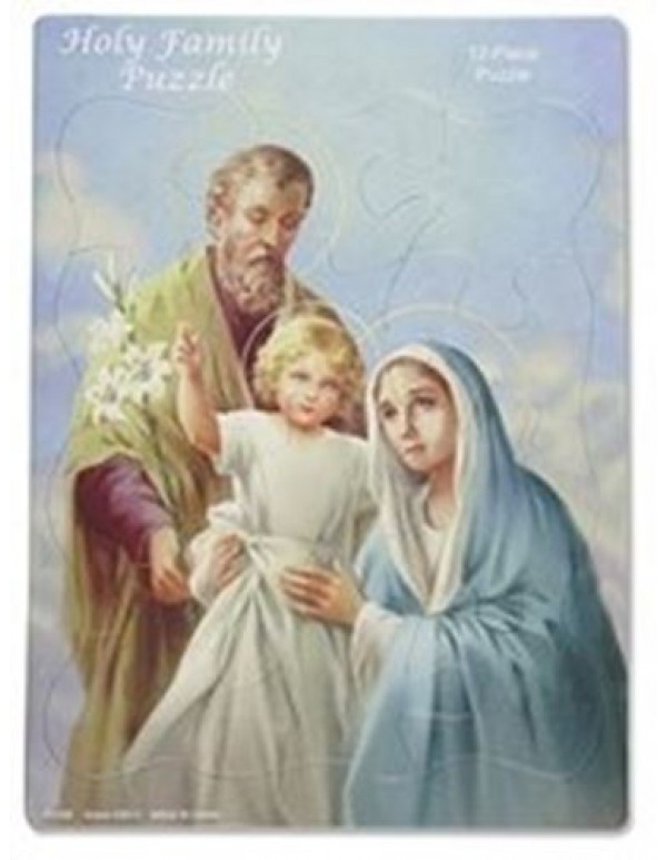 Holy Family Devotional Tray Puzzle