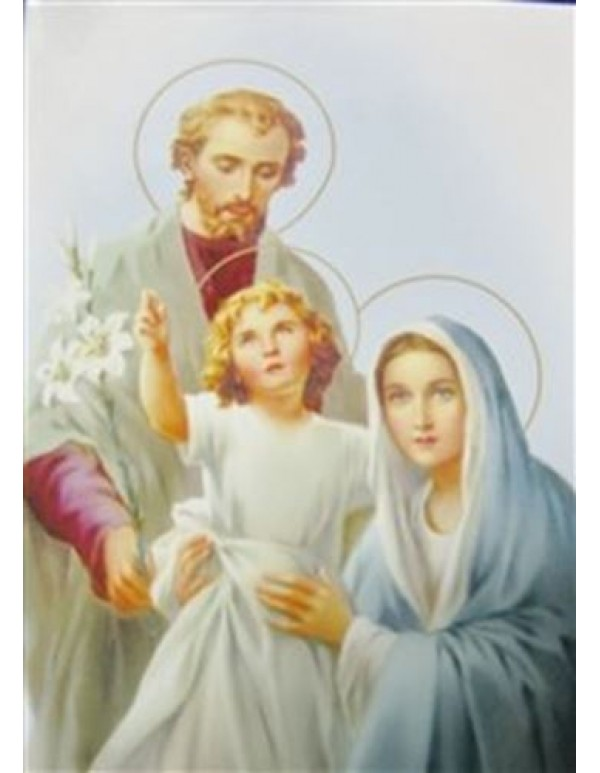 Holy Family metal magnet