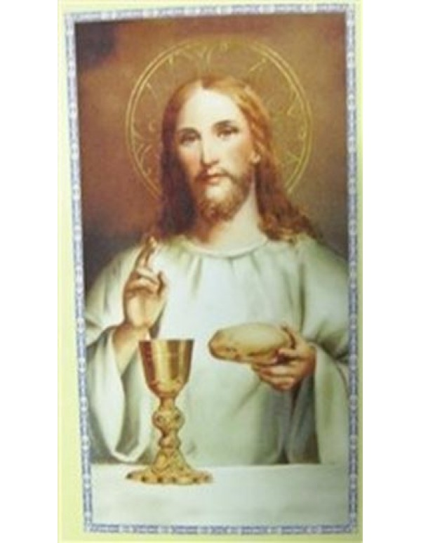 I am the Bread of Life - 1st Holy Communion Holy Card
