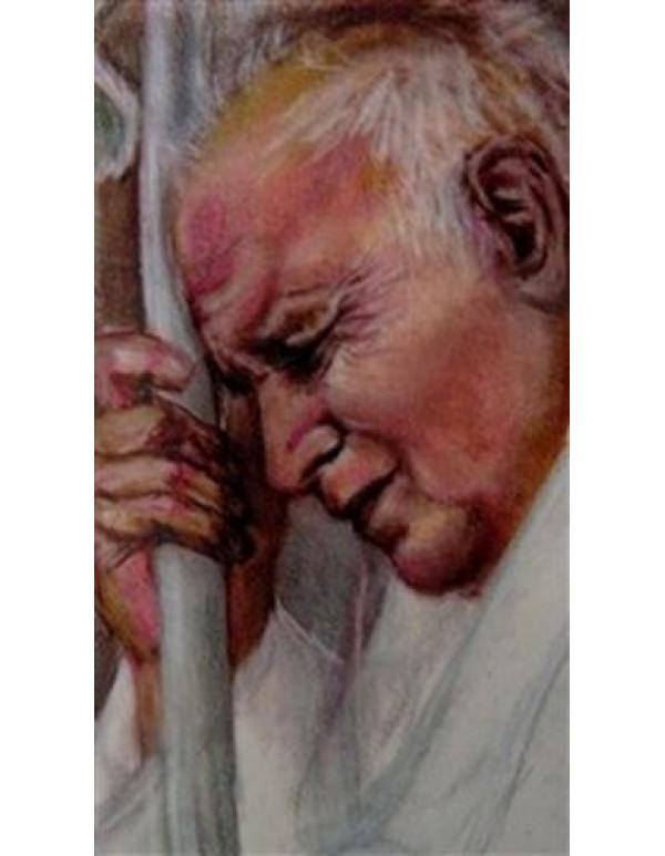 John Paul 11 - The Great - Prayer Card