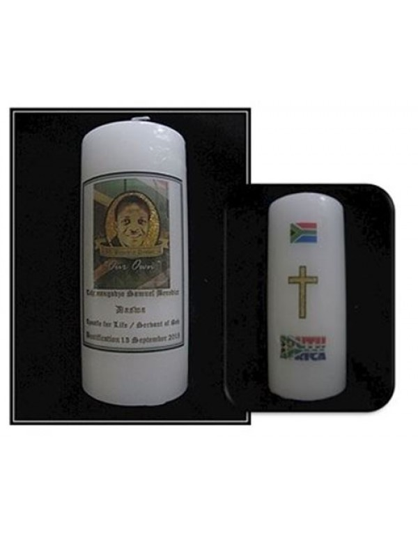 Limited Edition - Benedict Daswa - Beautification candle 7 x 18.5cm