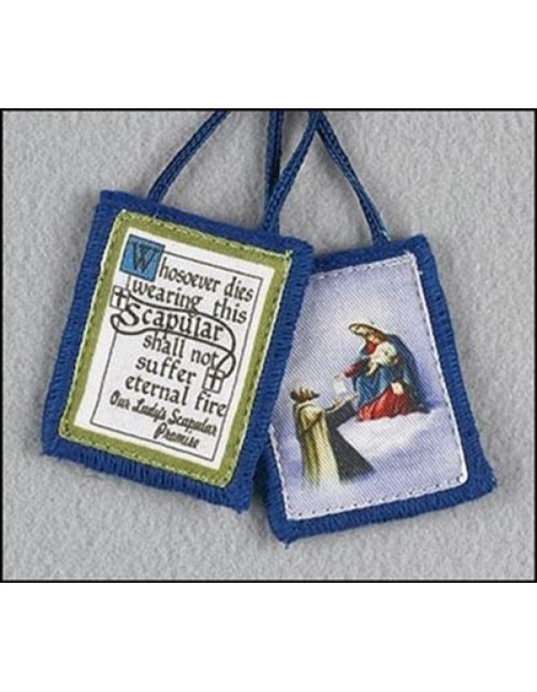 Our Lady of Mount Carmel & Saint Simon Stock Scapular