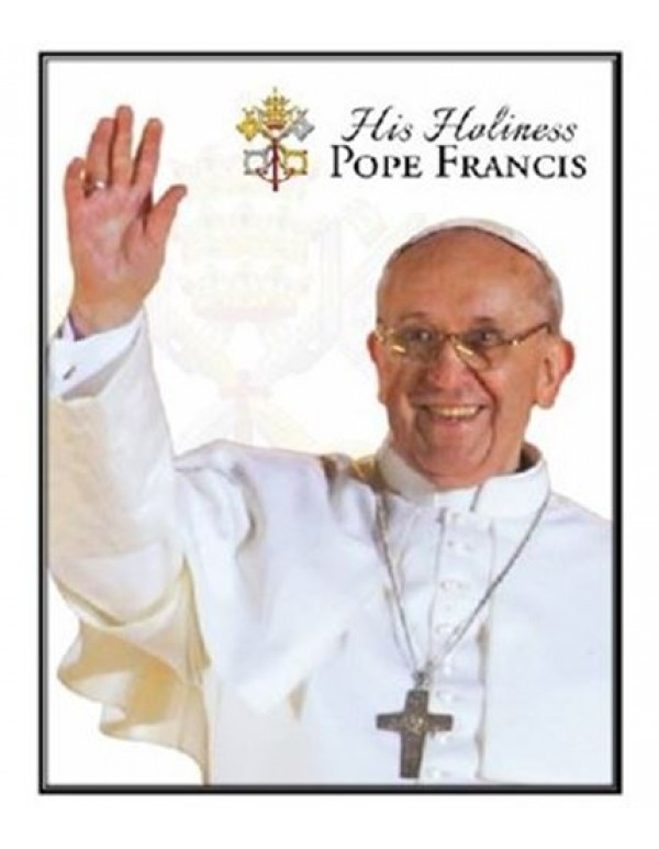 Pope Francis Sticker - 4 x 4cm
