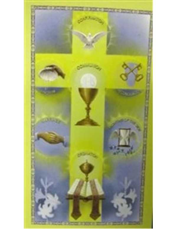 Sacraments Holy Card