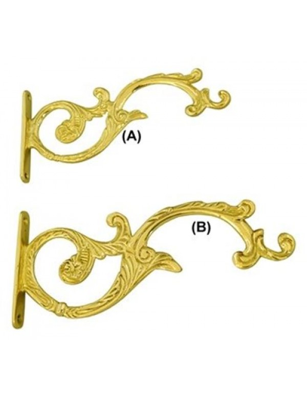 Solid Brass Bracket for Vigil / Tabernacle lamp / Thurible