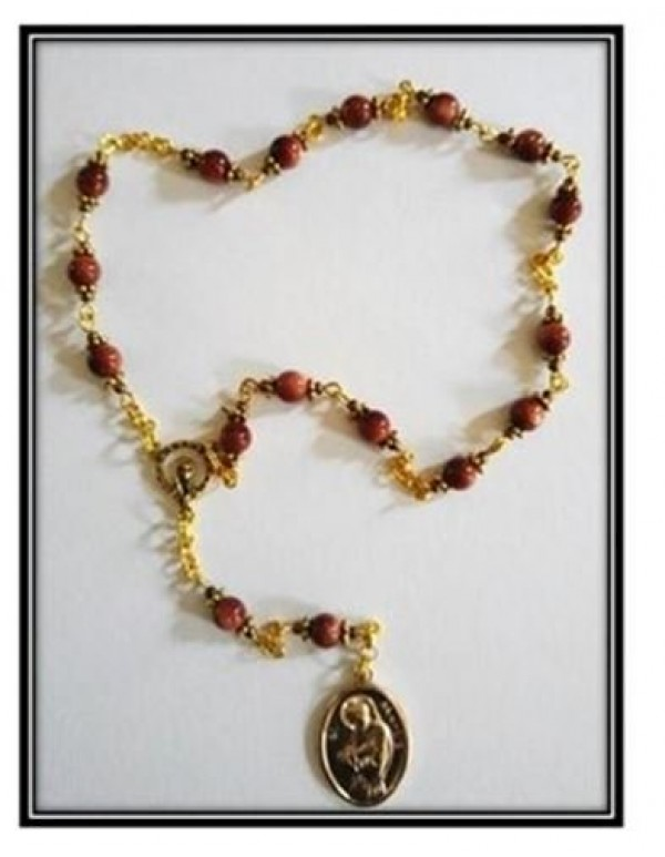St Francis of Assisi Chaplet in Goldstone