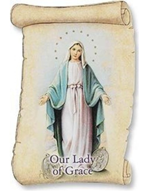 Traditional Catholic Miraculous Medal Magnet