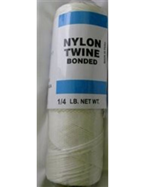 White Bonded nylon cord  # 9  - 113 grams