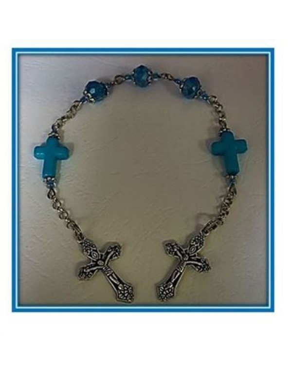 Mary's Little Rose - Blue Cross - Limited Edition
