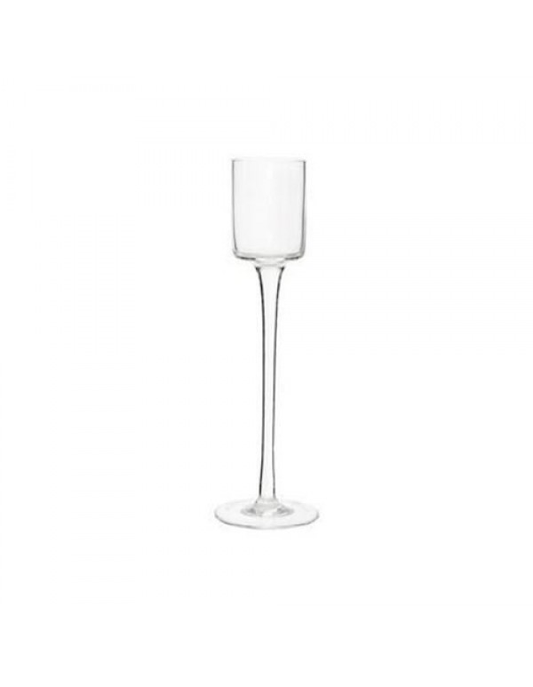 25cm tall - Elegant Glass candle holder