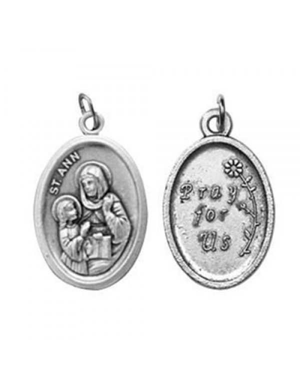 St Anne Medal - patron of Childless parents, housewives, grandparents, mothers, poverty, pregnancy