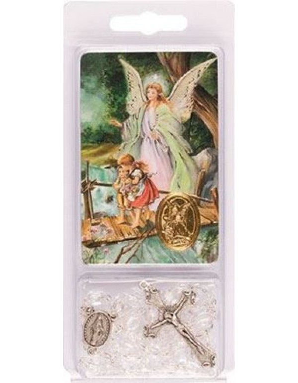 Guardian Angel Rosary Gift Pack