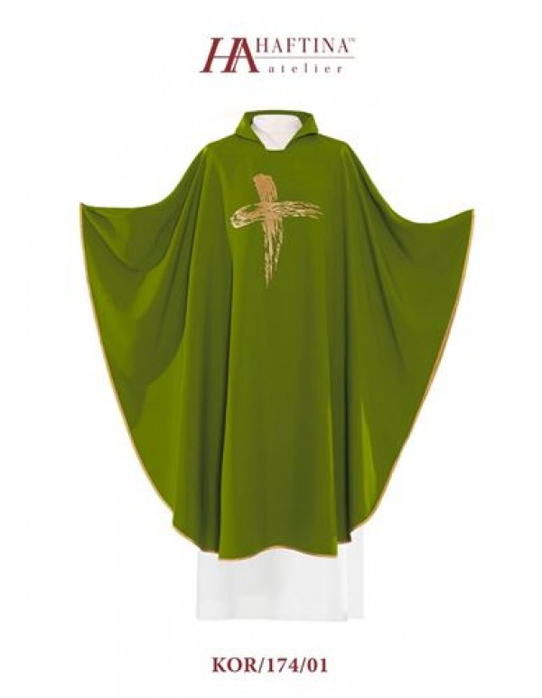 Haftina Polish Chasuble - All colours -  Modern Cross Design