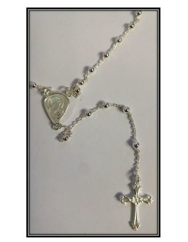 45cm Sterling Silver Rosary