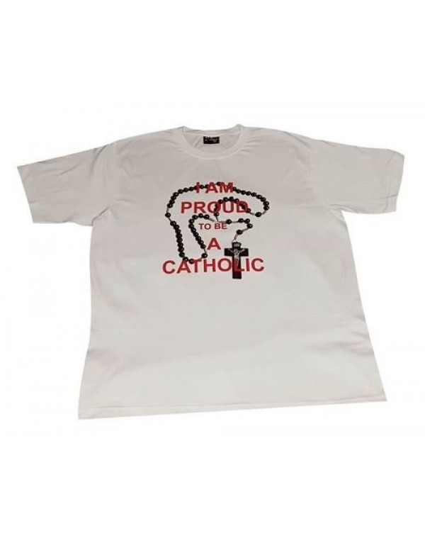 Proud to be Catholic - T Shirt