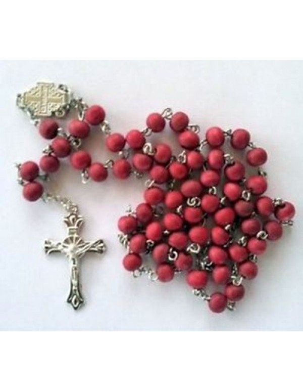 Rose Scented Rosary from the Holy Land - Jerusalem