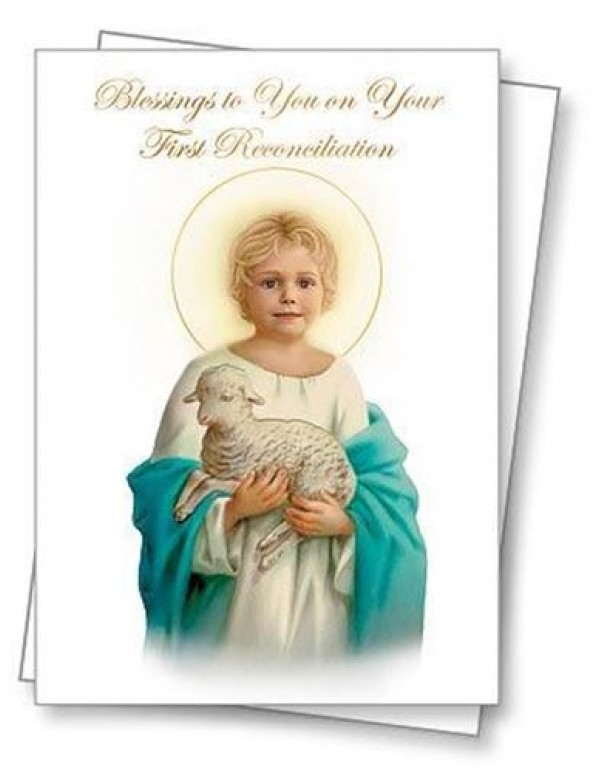First Reconciliation Blessing - Greeting Card