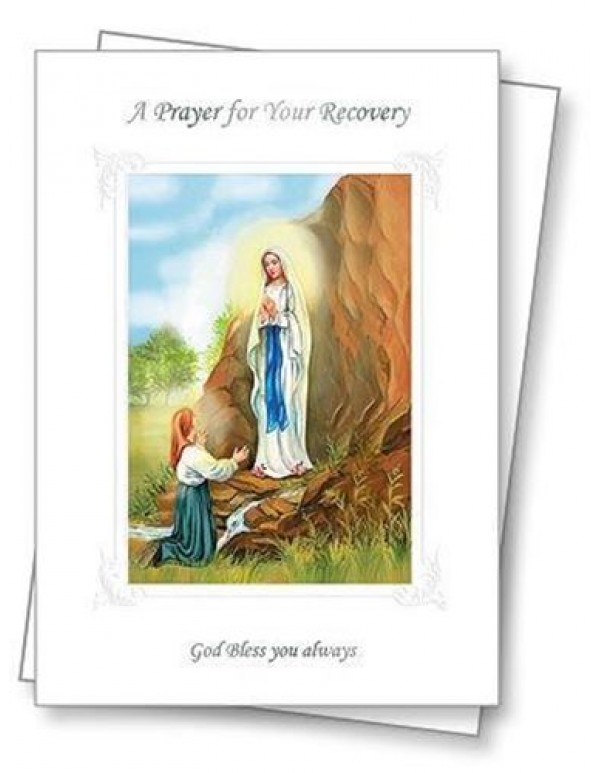 A Prayer for your Recovery Greeting Card