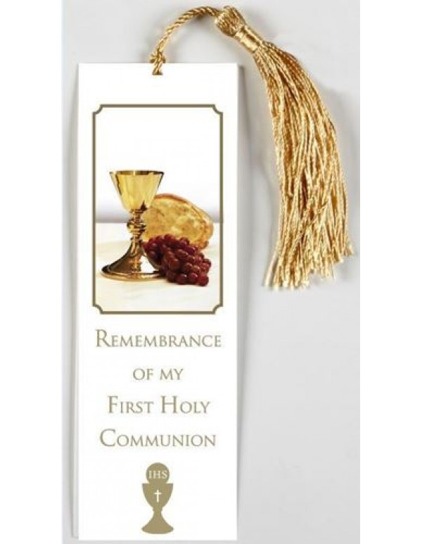 Our Daily Bread - Remembrance Card with golden tassel