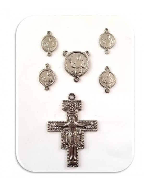 St Francis of Assisi - Chaplet Medal Set
