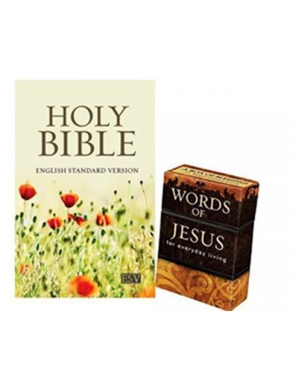 Bible and Box of Blessings Special - Flower edition