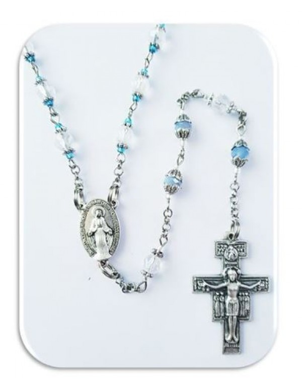 7 Joys of Mary chaplet / Franciscan Crown Chaplet