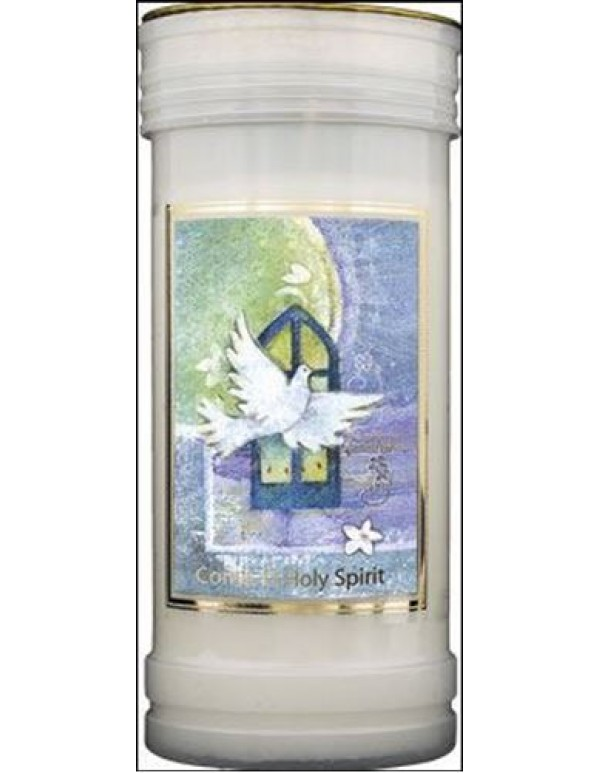 72 hour burning - Come, O Holy Spirit Candle