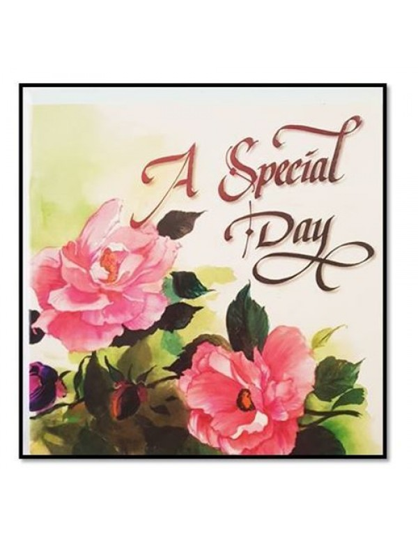CD Greeting Card - A Special Day