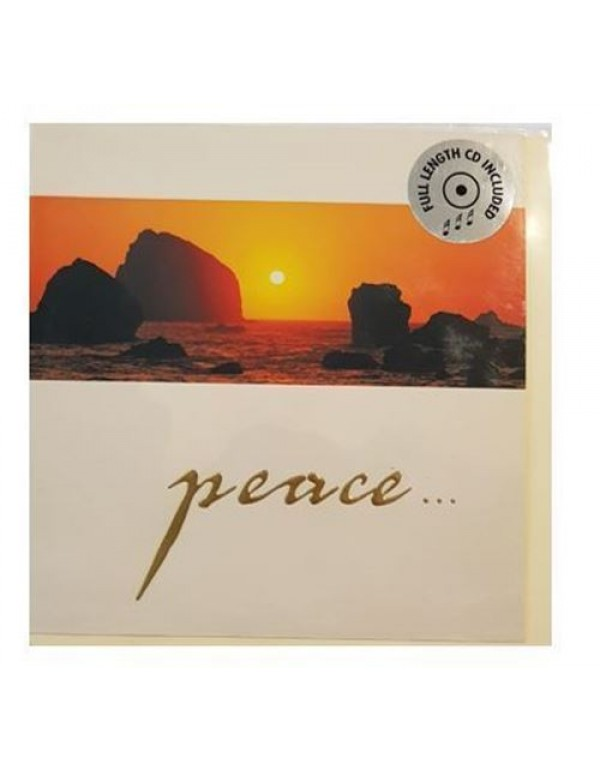 CD Musical Greeting Card - PEACE