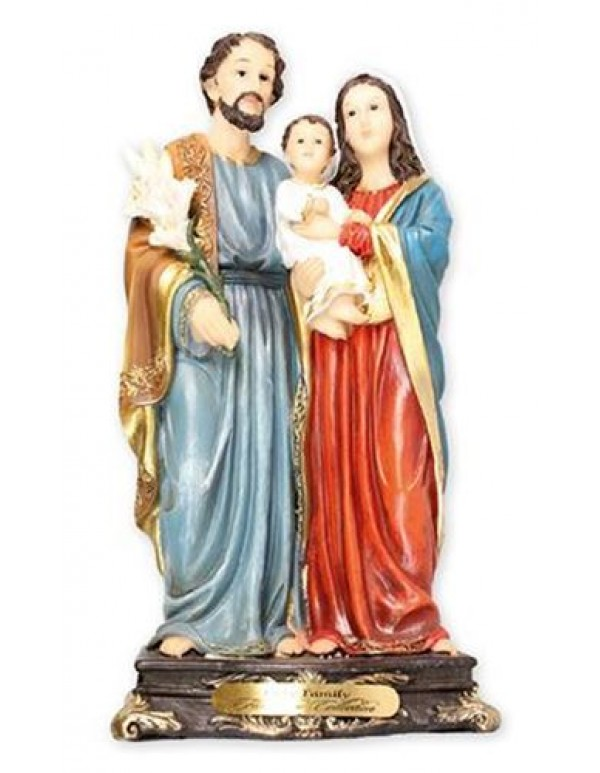 13cm Holy Family Statue - Florentine Collection