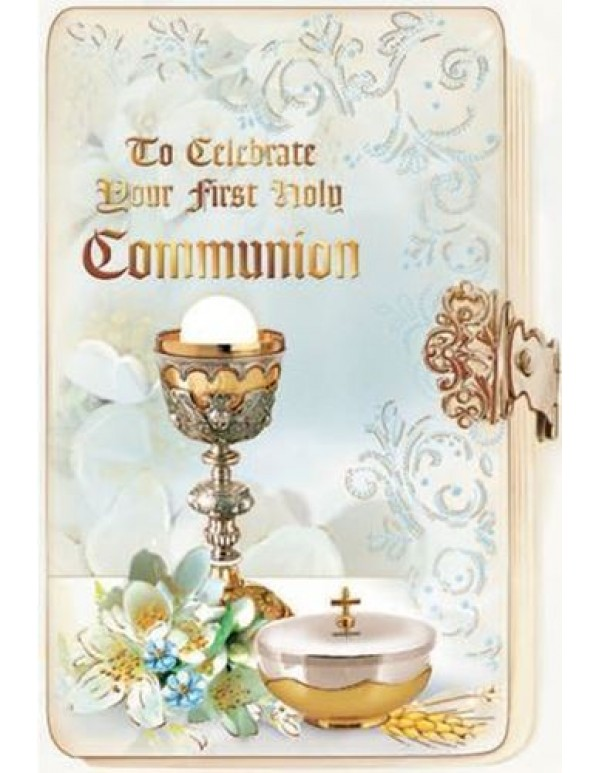 To Celebrate your First Holy Communion - Greeting Card
