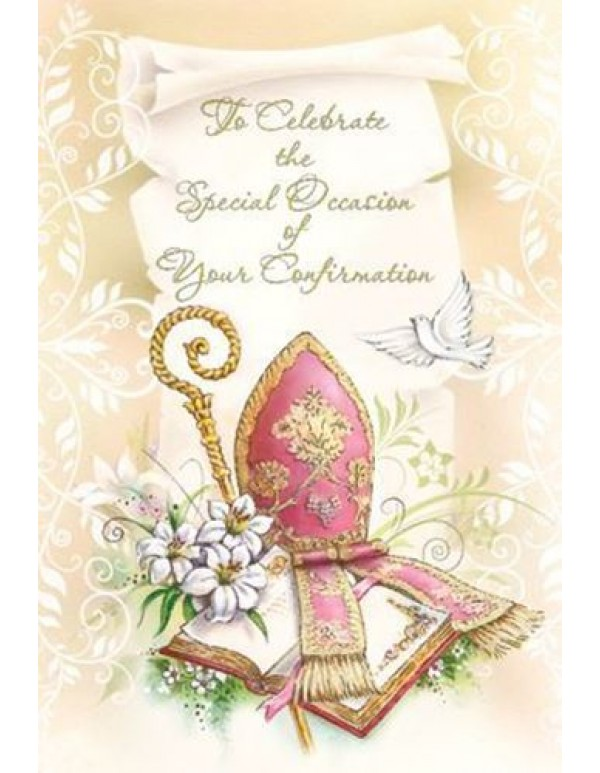 To celebrate the Special Occasion of Your Confirmation - Greeting card