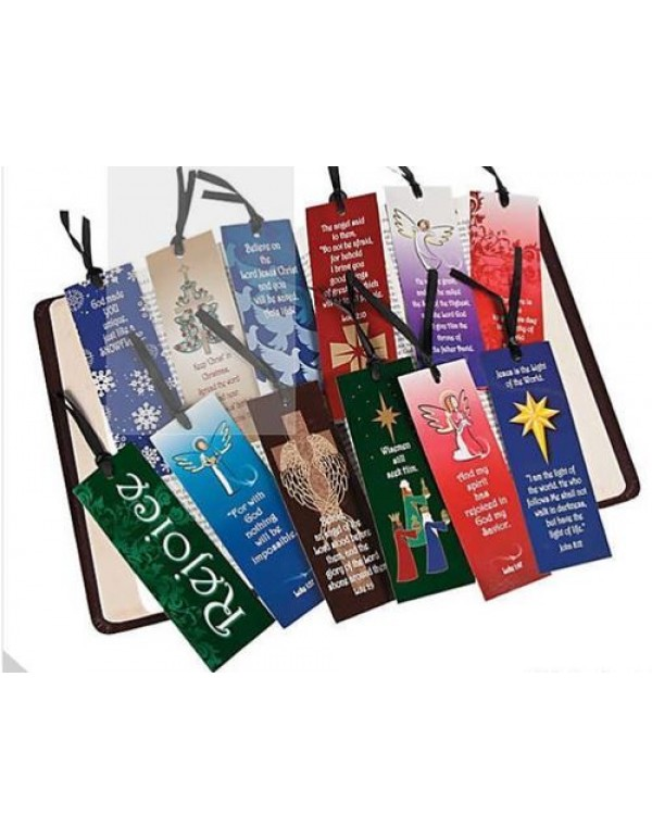 Christmas Bookmarks - Assorted
