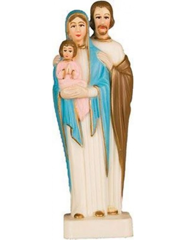 10cm Holy Family Plastic Statue