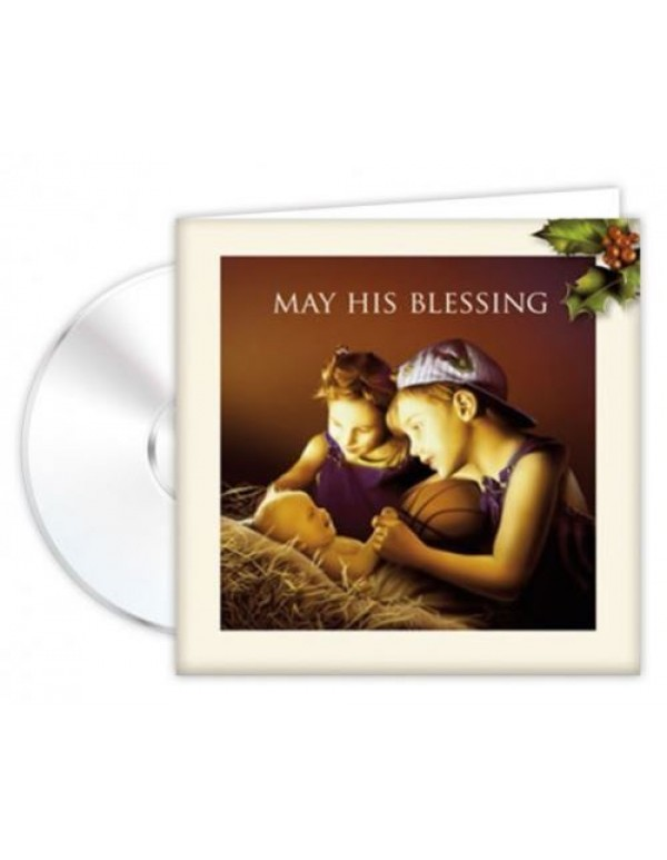 CD Musical Greeting Card - May His Blessing