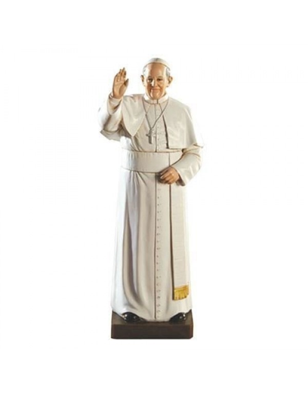 20cm Pope Francis Statue - Toscana