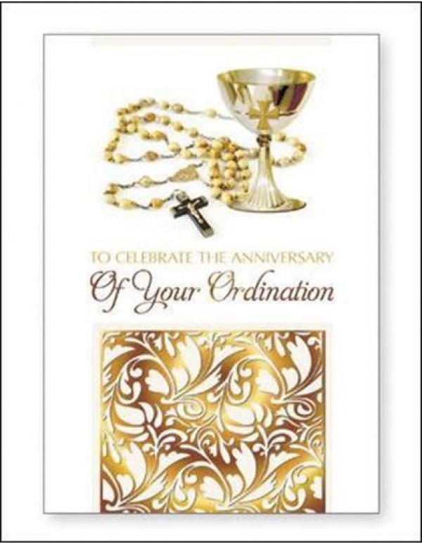 Anniversary of Your Ordination - Greeting Card