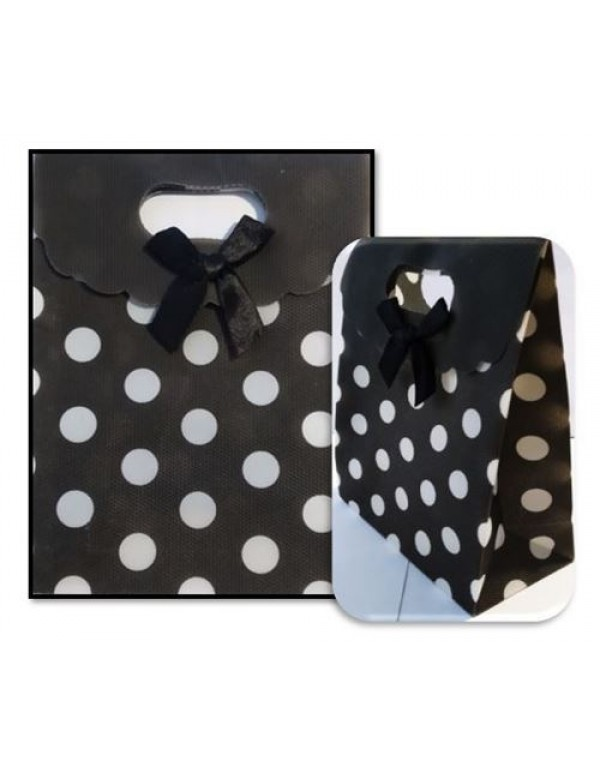 Black & White Polka Dot Gift Bag