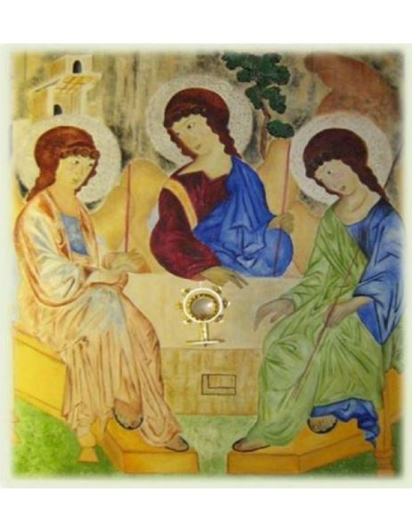 Holy Trinity  - Original oil on canvas - A0