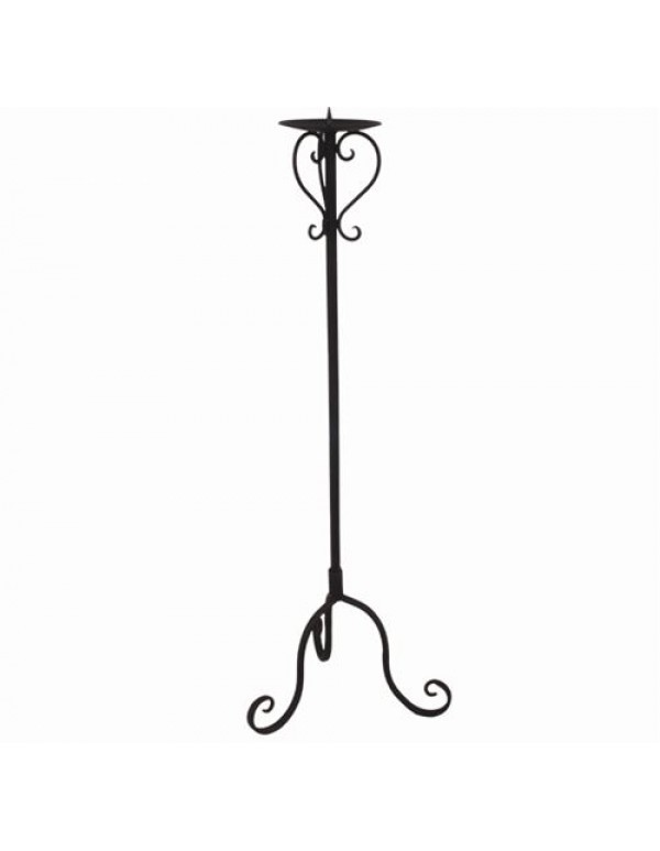 75cm candle holder with spitz