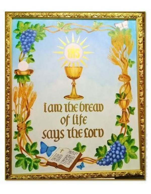 I am the Bread of Life - Oils  - Framed