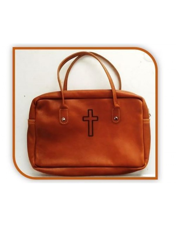 Genuine Leather Bible Bag