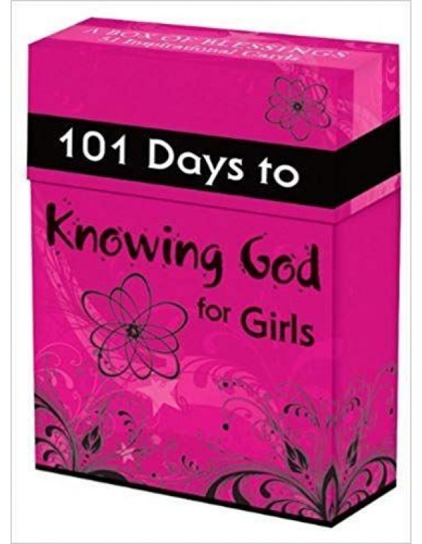 101 days to Knowing God - for girls - Box of blessings
